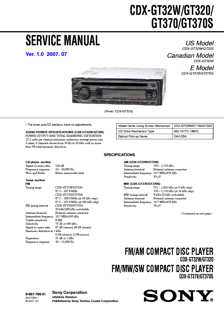 sony_cdx gt32_w320.pdf_1?resize=665%2C941&ssl=1 sony xplod cdx gt310 wiring diagram sony xplod wiring color code sony mex n5100bt wiring diagram at panicattacktreatment.co
