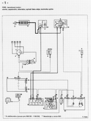 FIAT UNO WIRING DIAGRAM Service Manual download