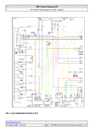 HONDA S2000 2005 WIRING DIAGRAMS SCH Service Manual