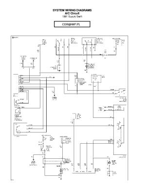 SUZUKI WAGONR WIRING DIAGRAM Service Manual download, schematics, eeprom, repair info for