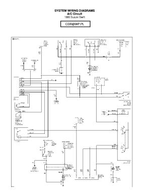 SUZUKI WAGONR WIRING DIAGRAM Service Manual download