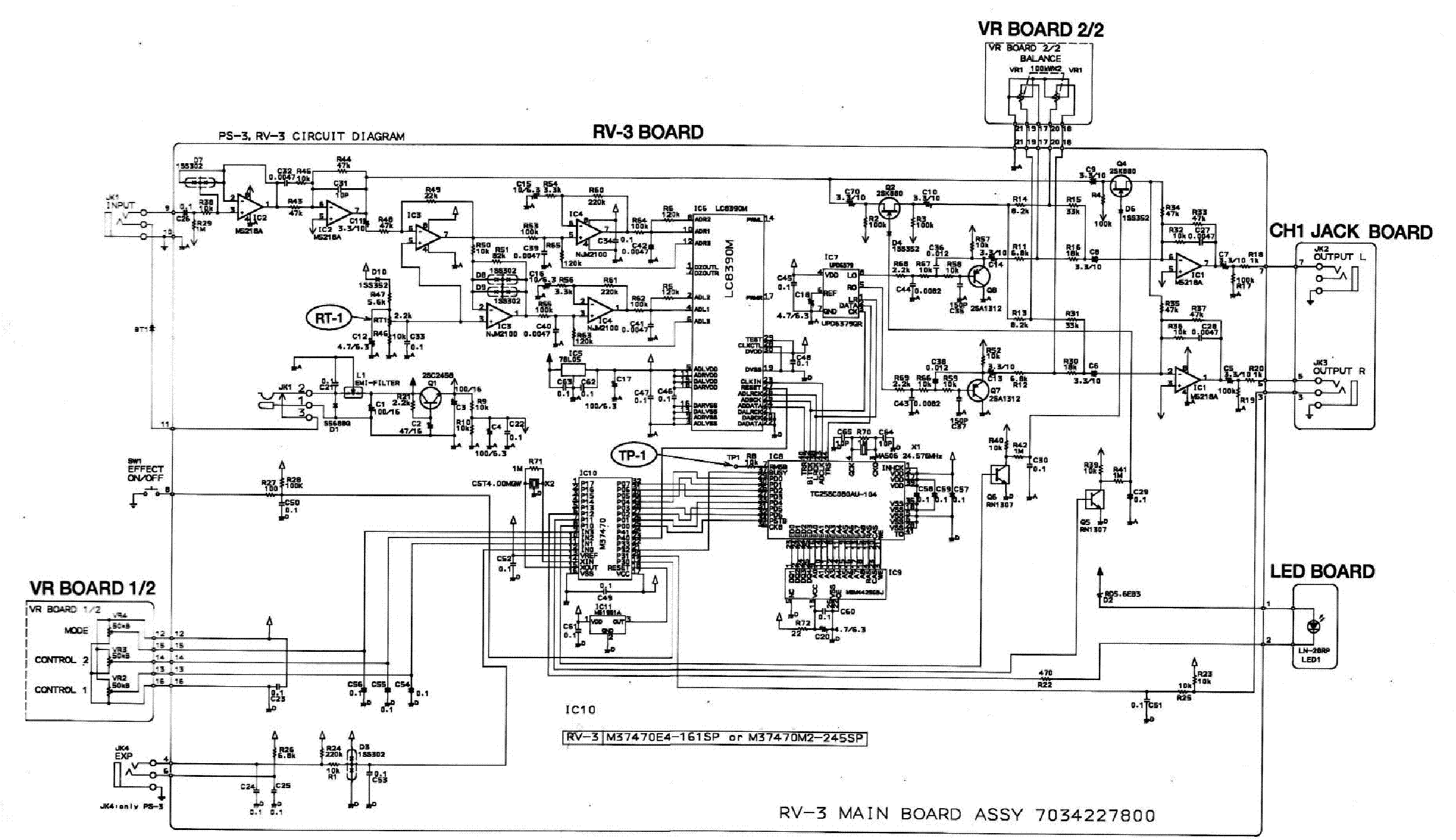 Boss Wiring Schematic