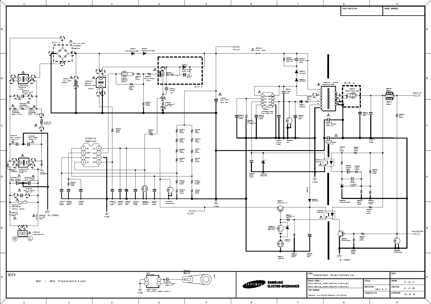 Samsung Bn44 A Service Manual Download Schematics