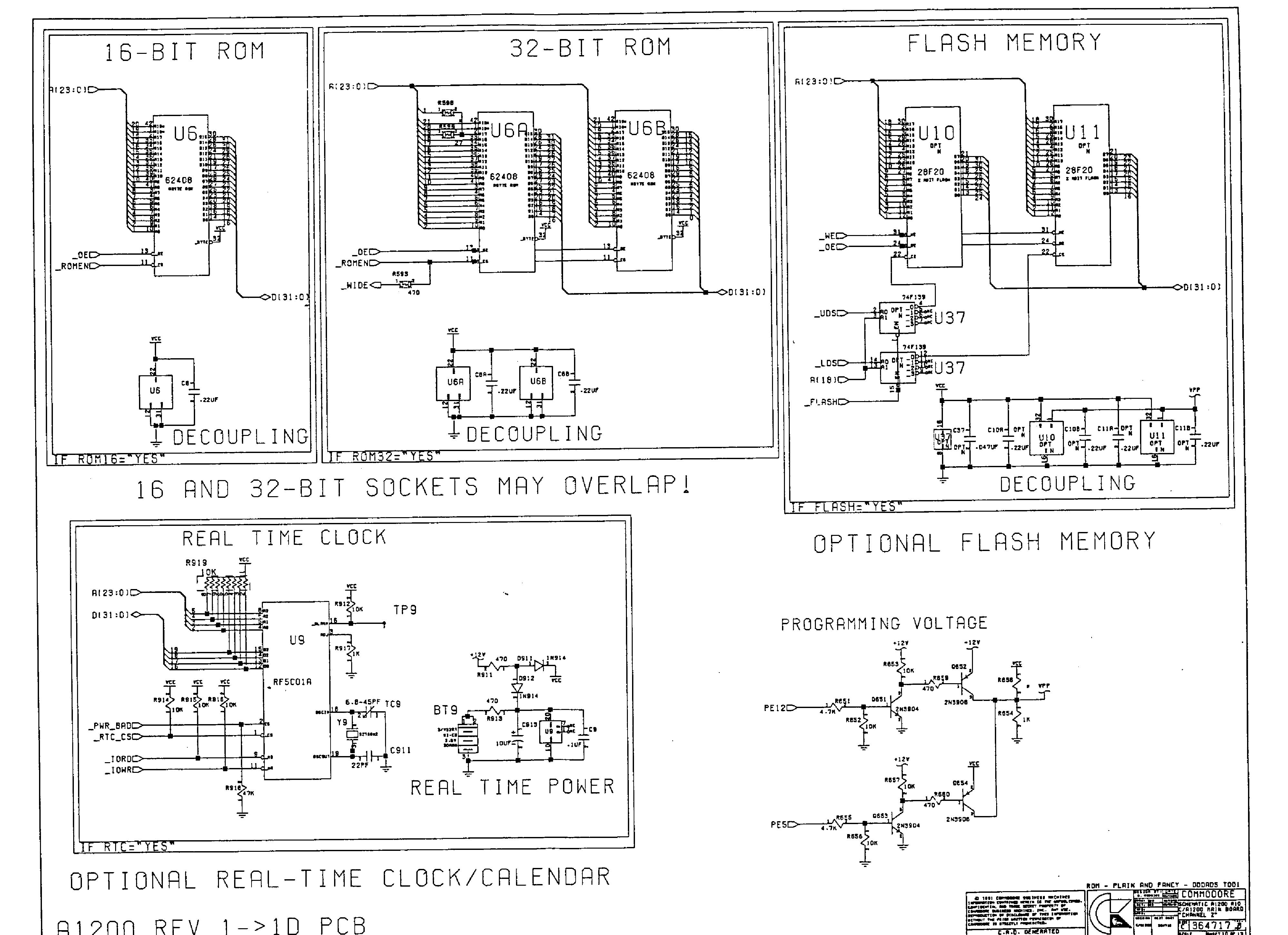 Commodore A Schematics Service Manual Download