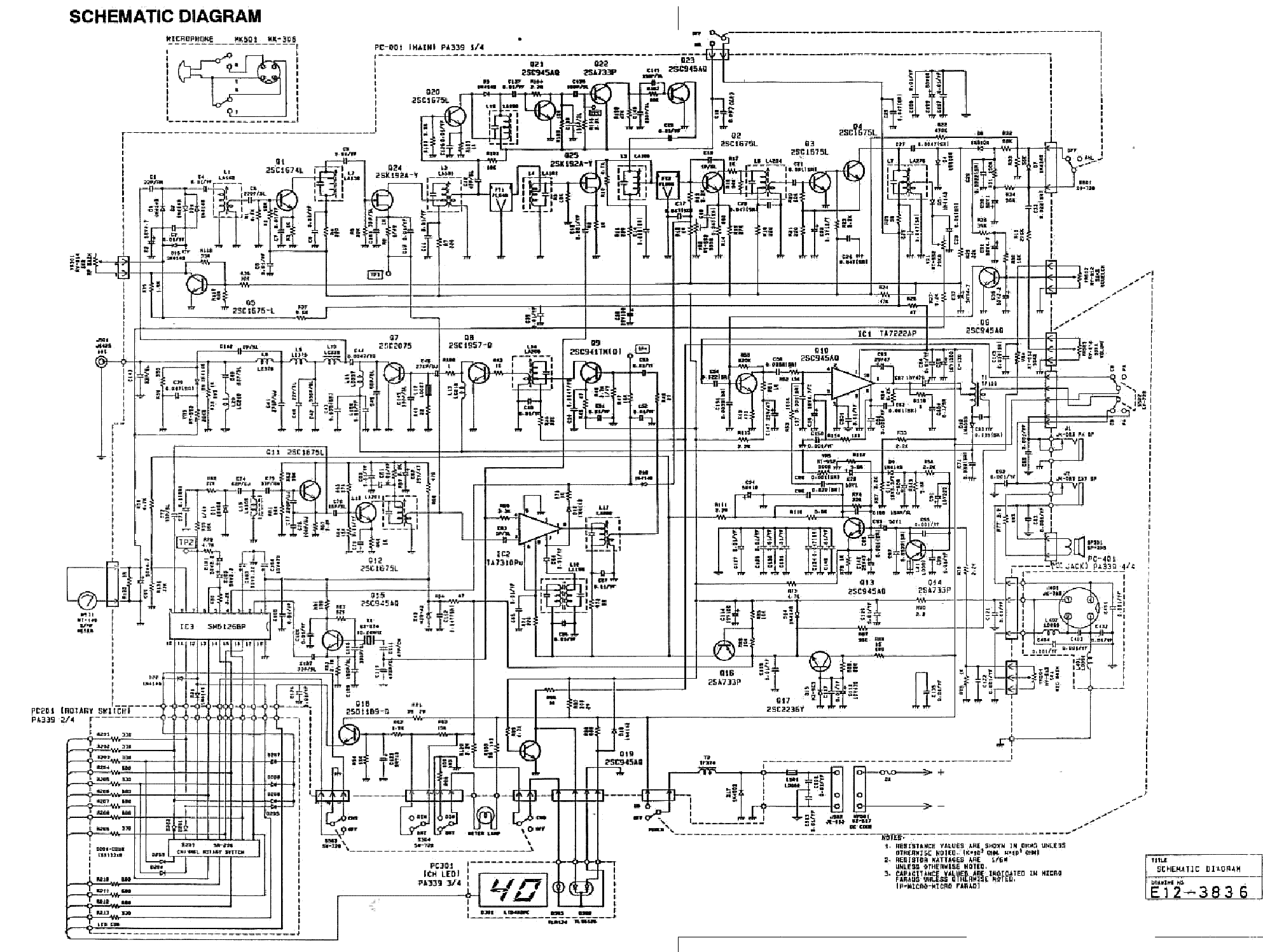Uniden Grant Service Manual Download Schematics Eeprom
