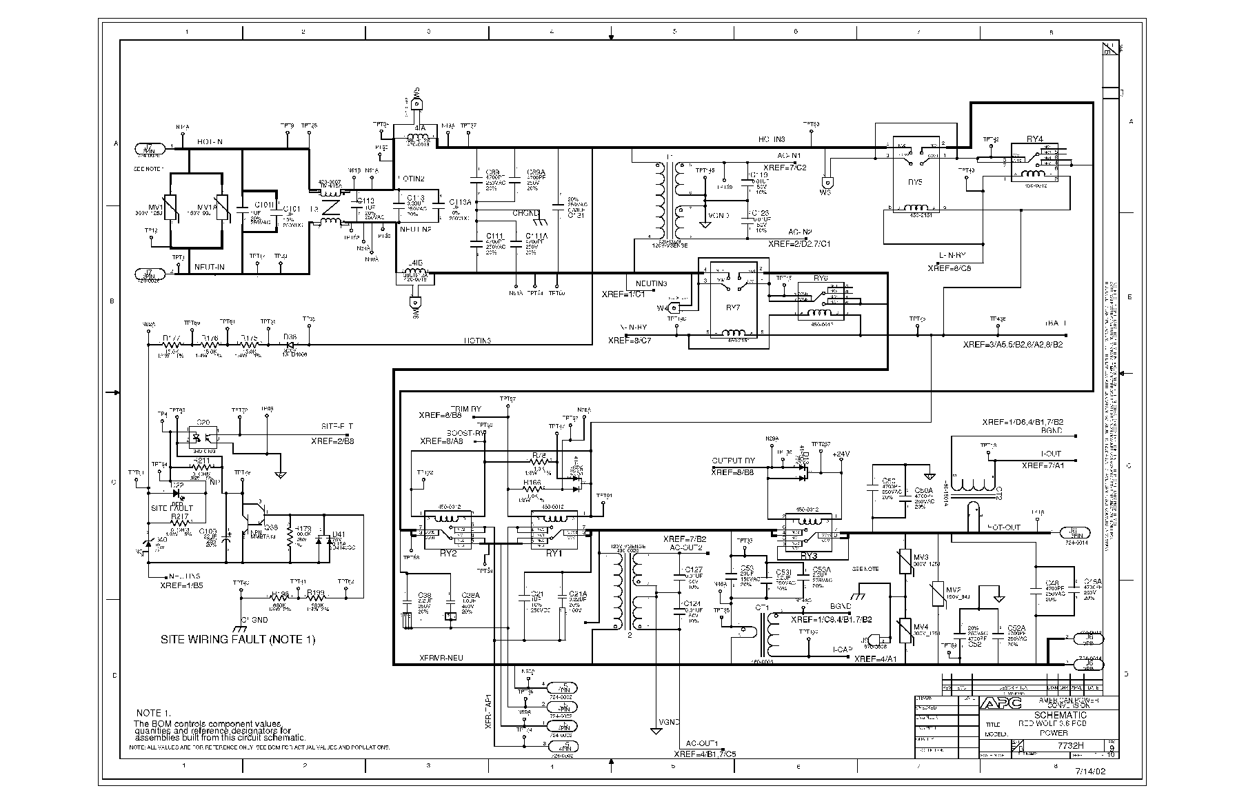 1kv Ups Circuit Diagram