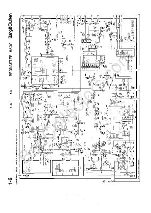 BANG OLUFSEN BEOMASTER 5500 SCH Service Manual download