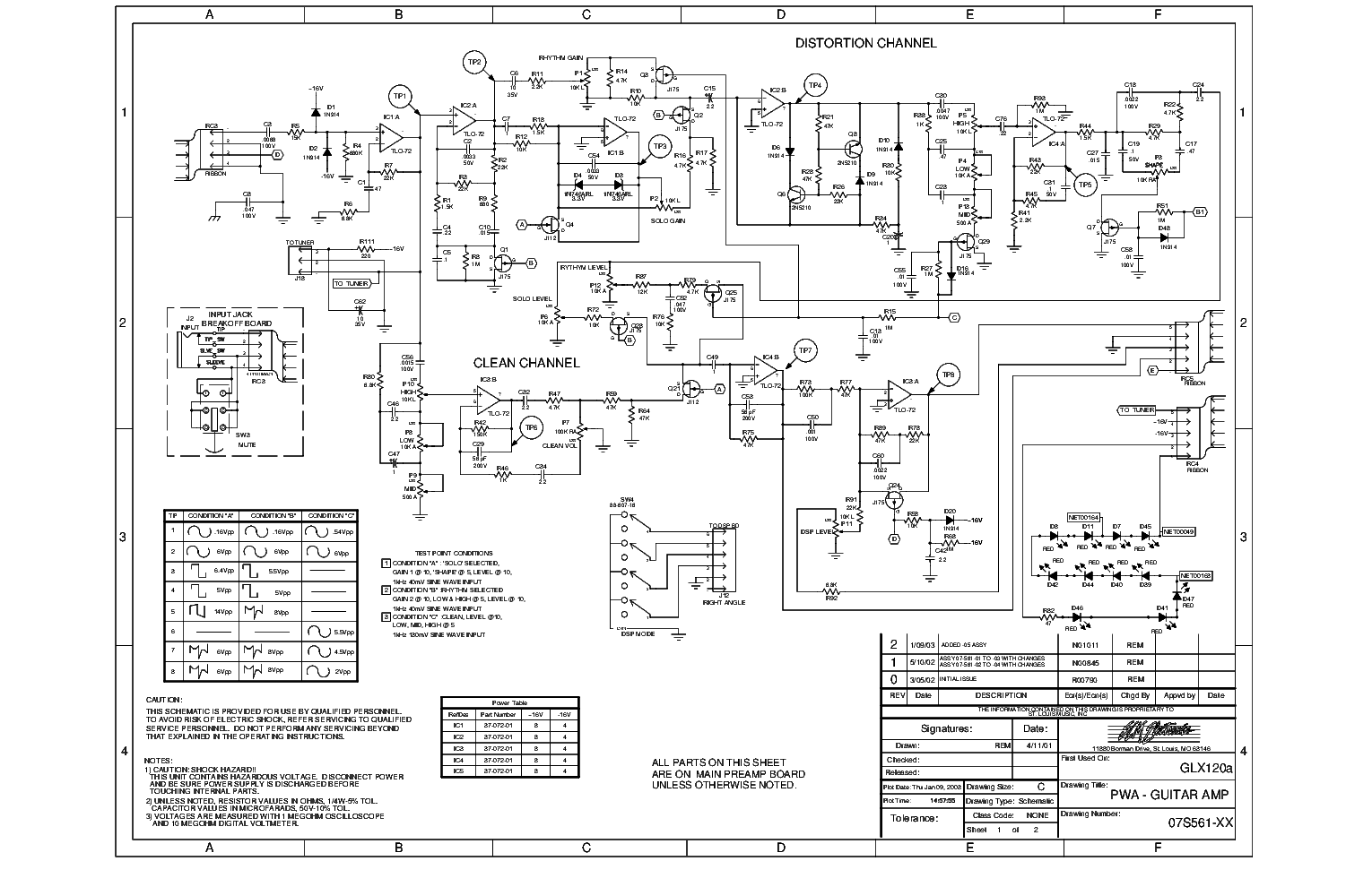 Crate Pa 8 Mixer Sch Service Manual Download Schematics