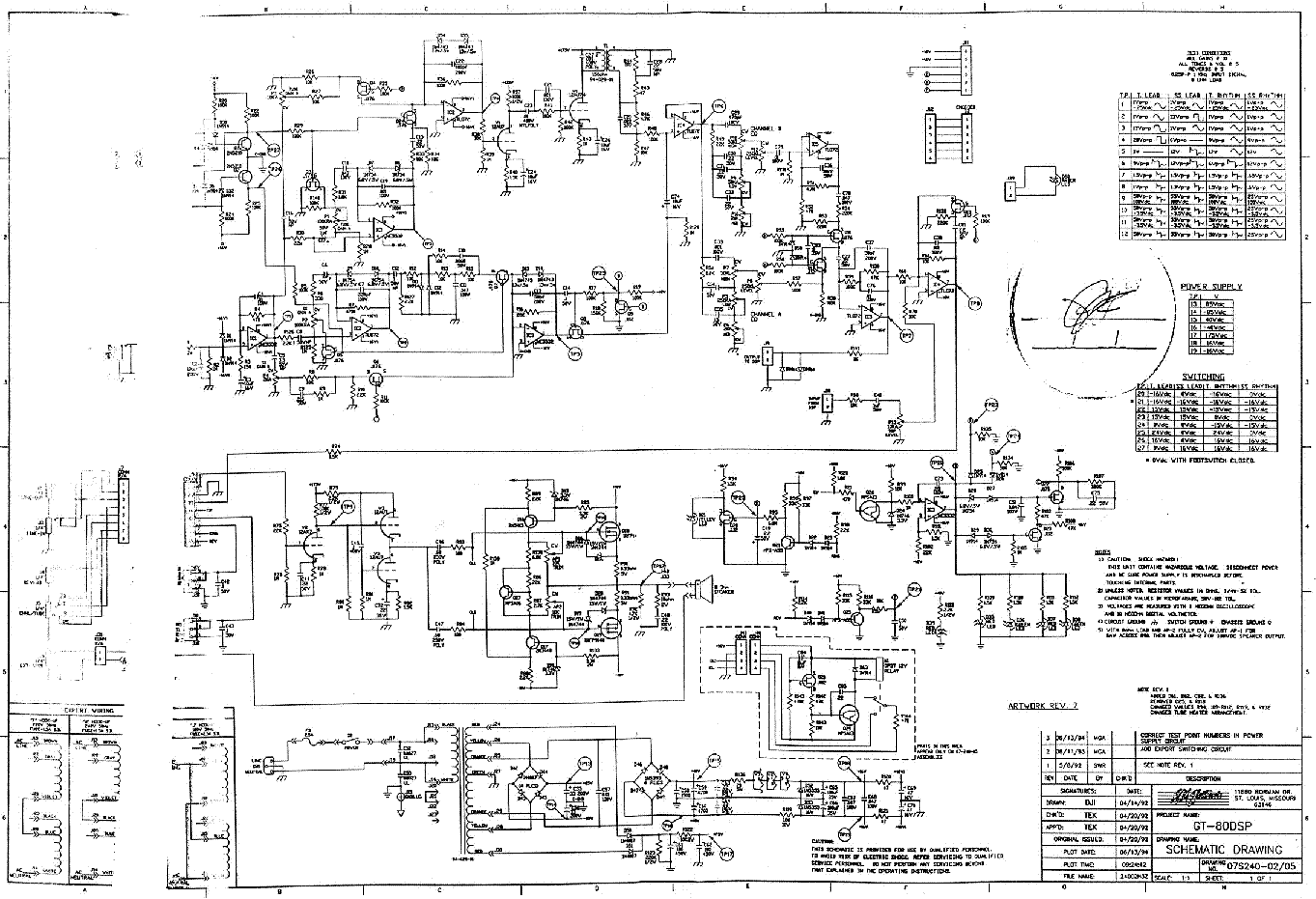 Wiring Diagram Crate Amplifier