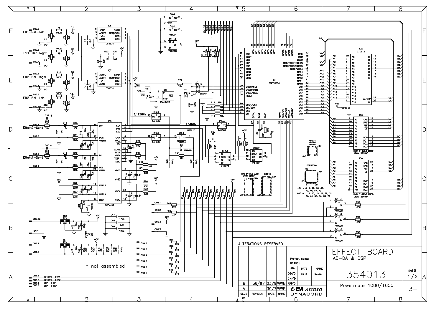Dynacord Pm Sch Service Manual Download Schematics Eeprom Repair Info For Electronics Experts