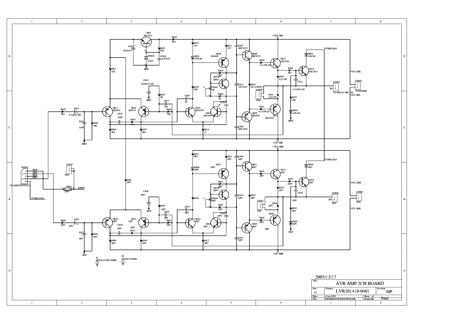 Jamo Sw 400e Sch Service Manual Download Schematics