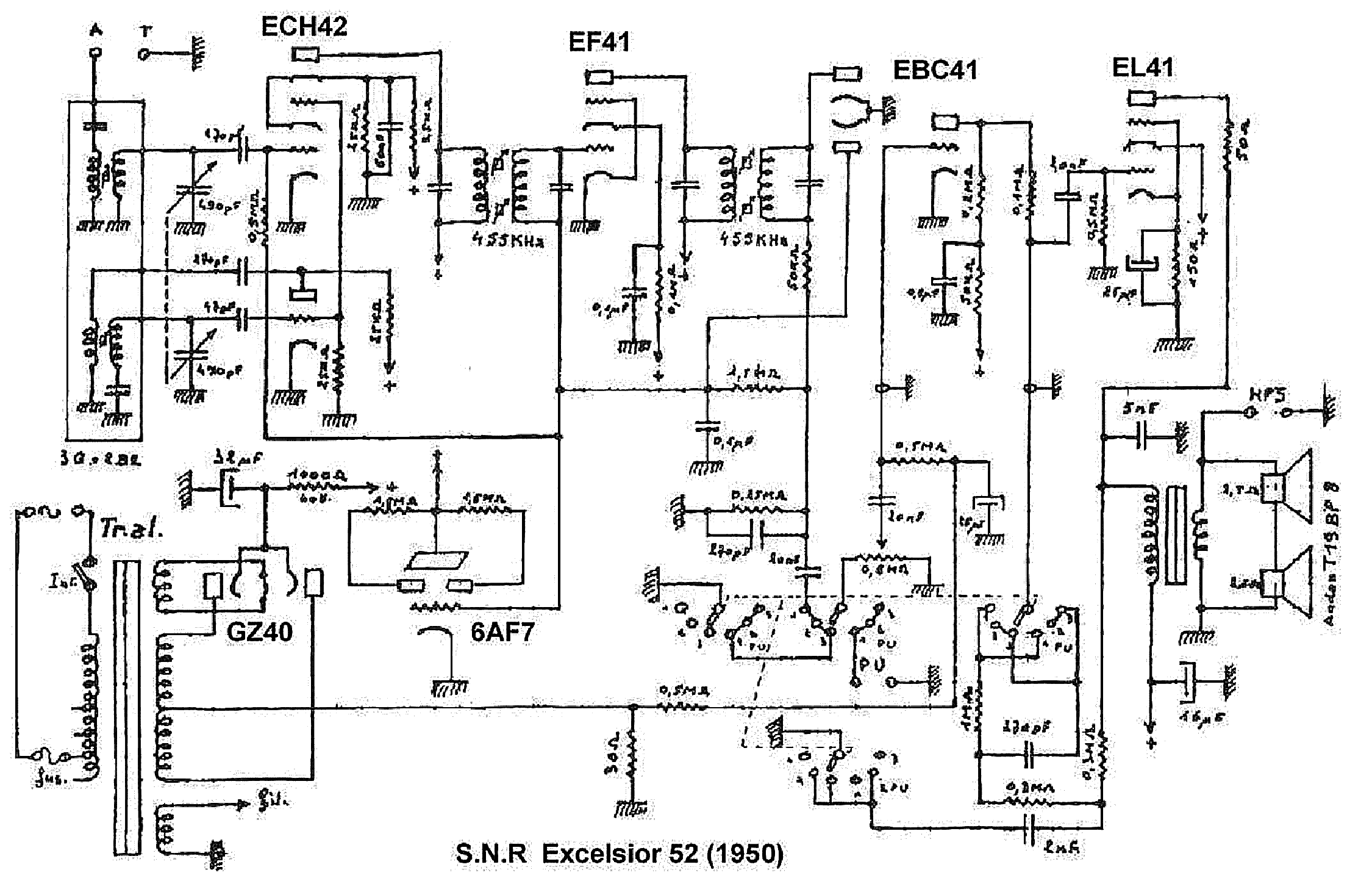 Snr Excelsior 52 Radio Sch Service Manual Download