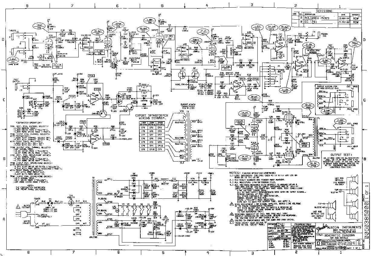 Fender Vibrolux 5f11 Layout Service Manual Download
