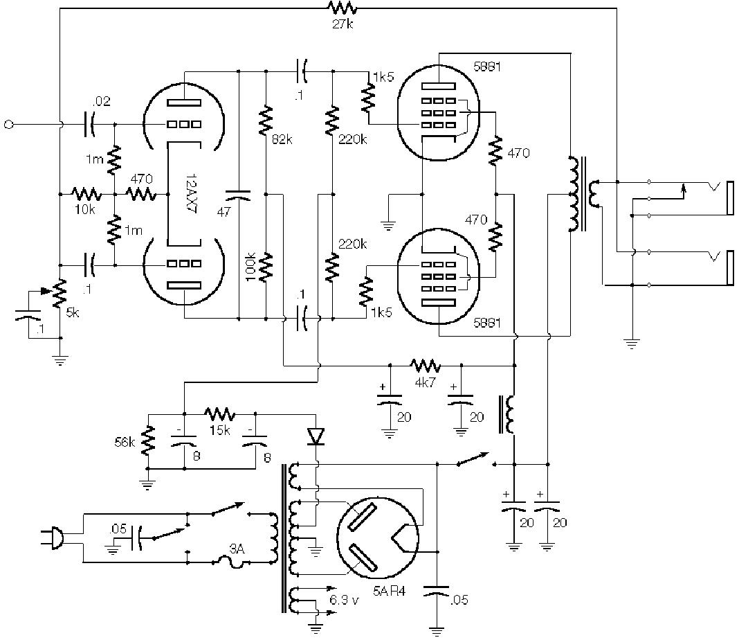 Fender Champ 5e1 Service Manual Free Download Schematics