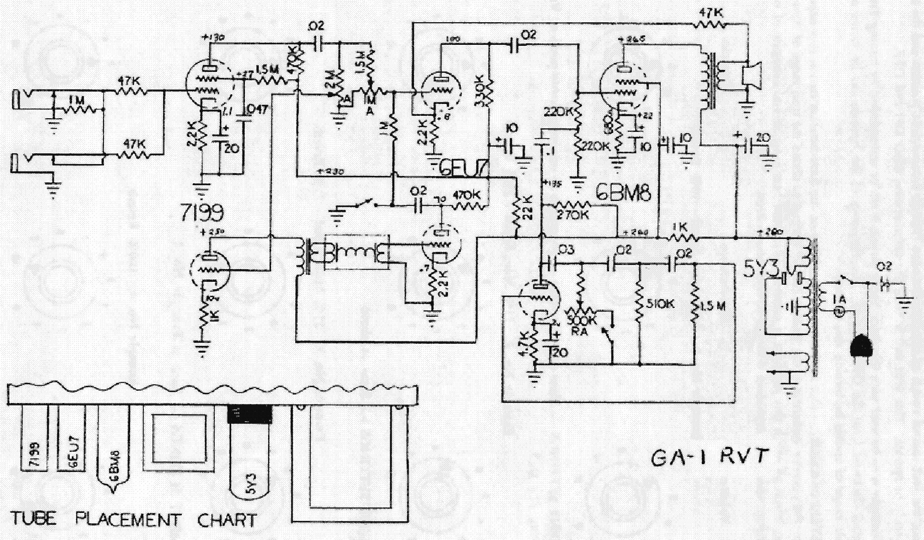 Gibson Falcon Schematic Service Manual Free Download