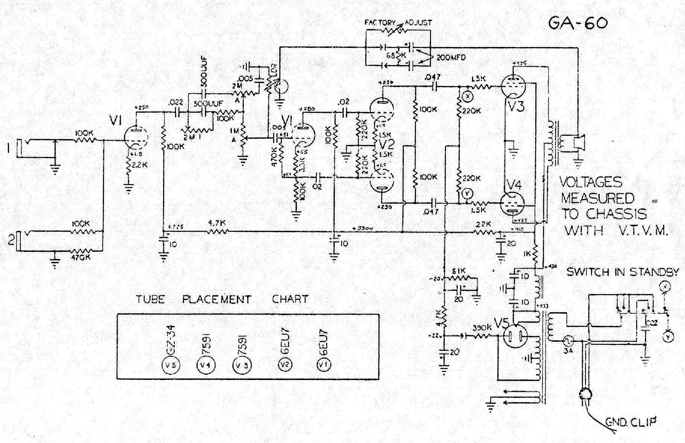 Gibson Ga 8 6v6 Schematic Service Manual Download