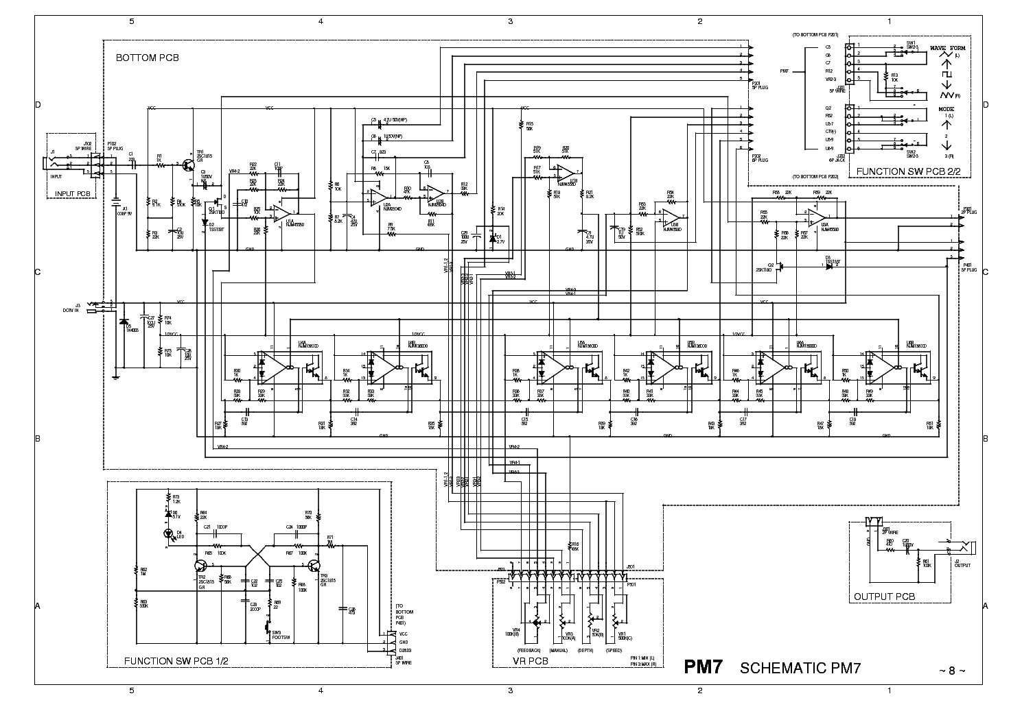 Ibanez Ad80 Sch Service Manual Free Download Schematics