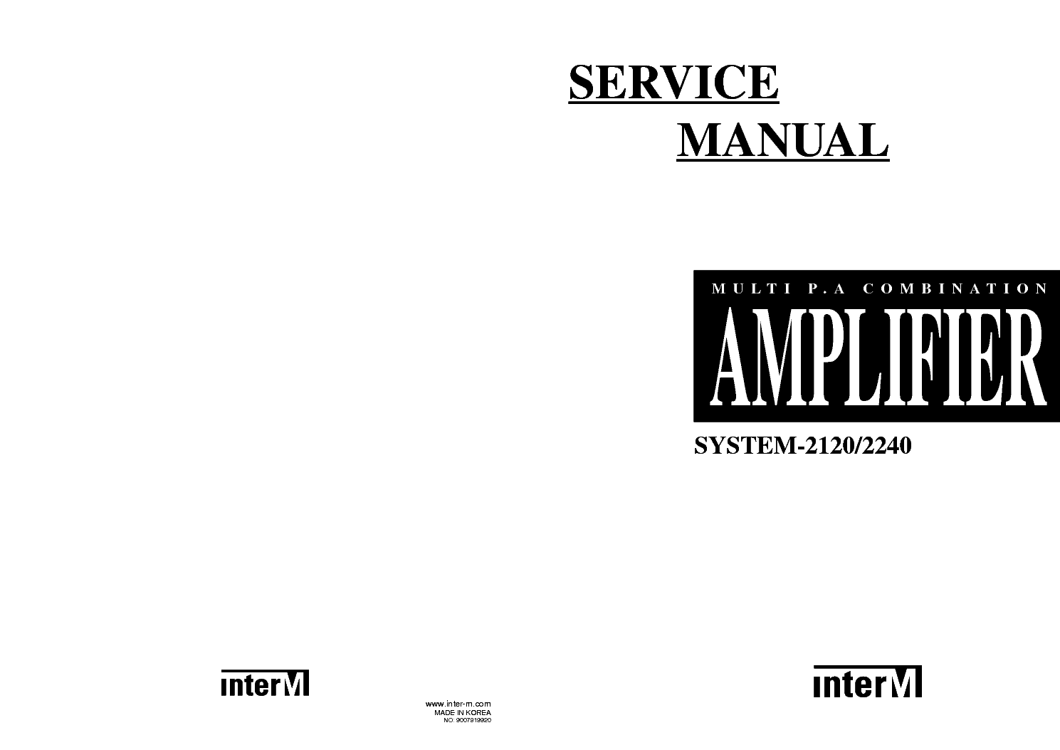 Interm P Parts Sch Service Manual Download