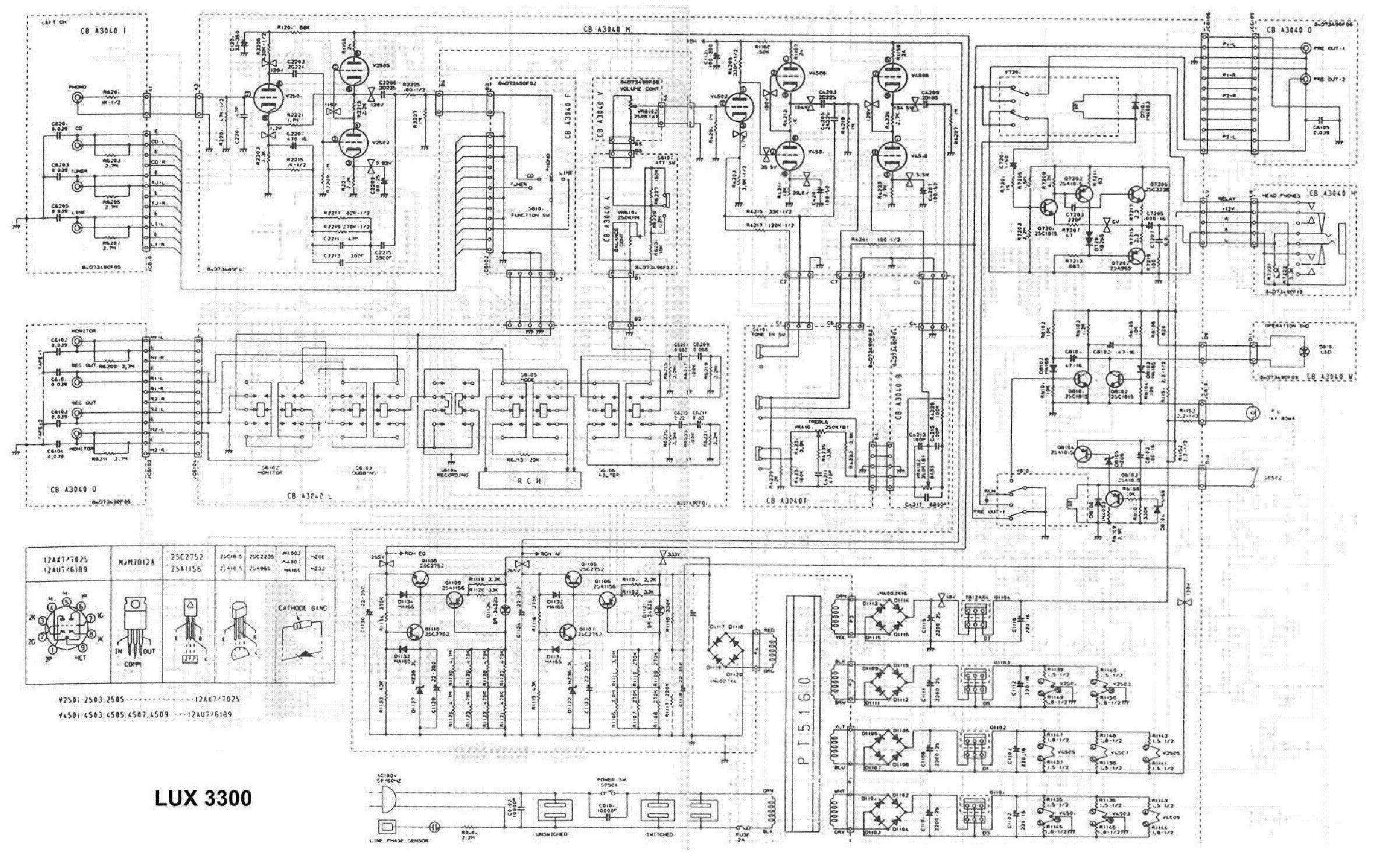 Luxman Preamplifier Sch Service Manual Download