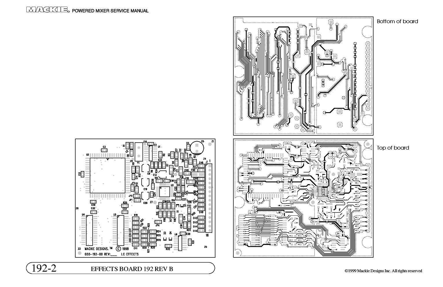Mackie 808s Mixer Sch Service Manual Download Schematics