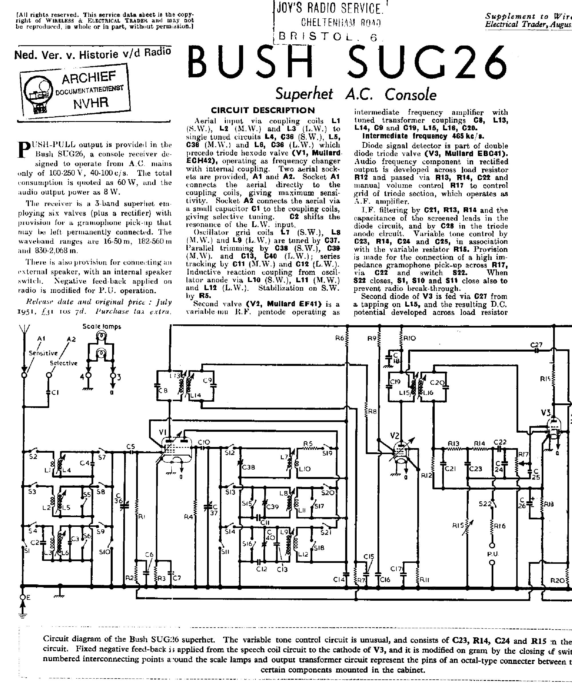 Bush Dac90 Service Manual Download Schematics Eeprom