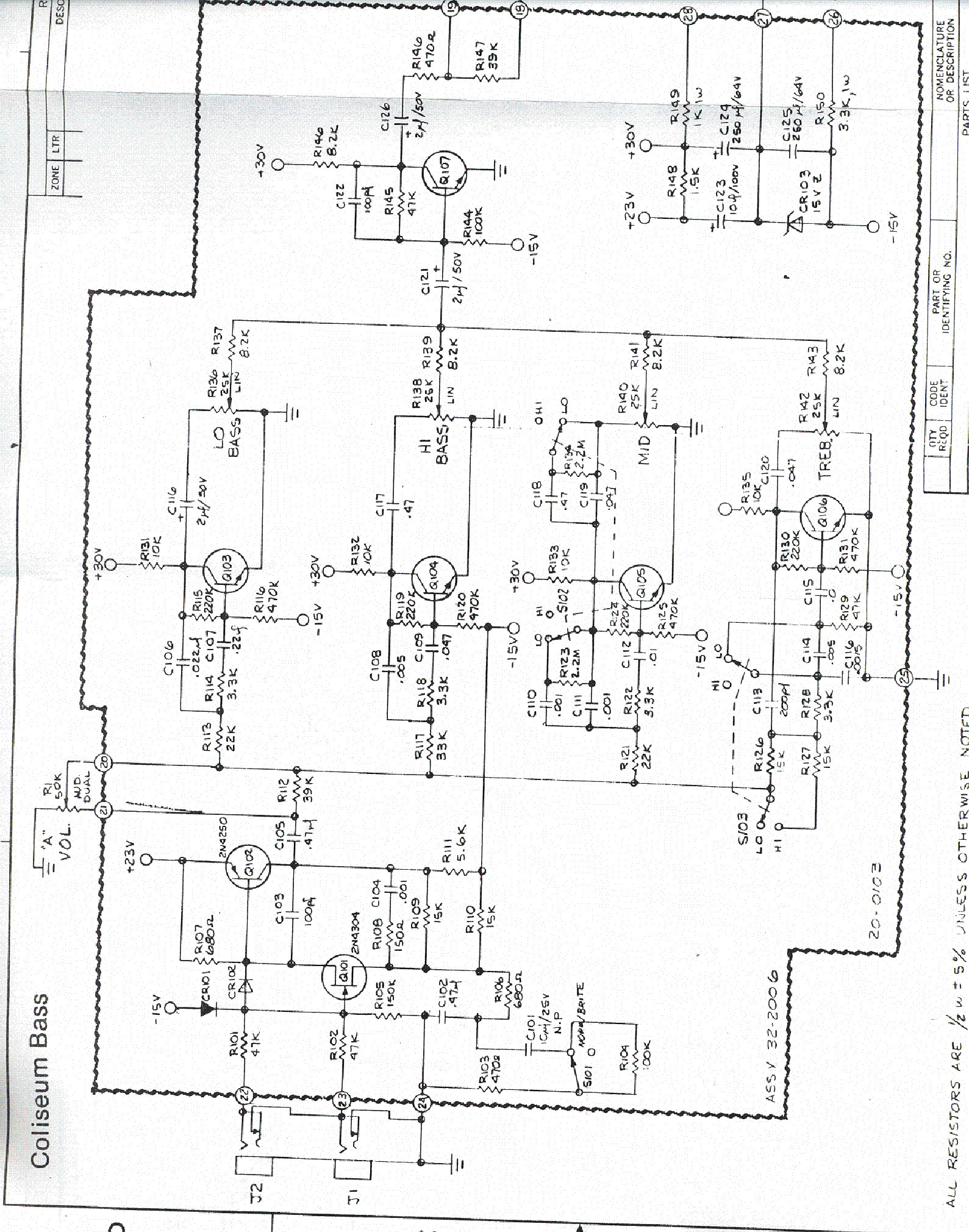 Sunn Model T Service Manual Download Schematics Eeprom Repair Info For Electronics Experts
