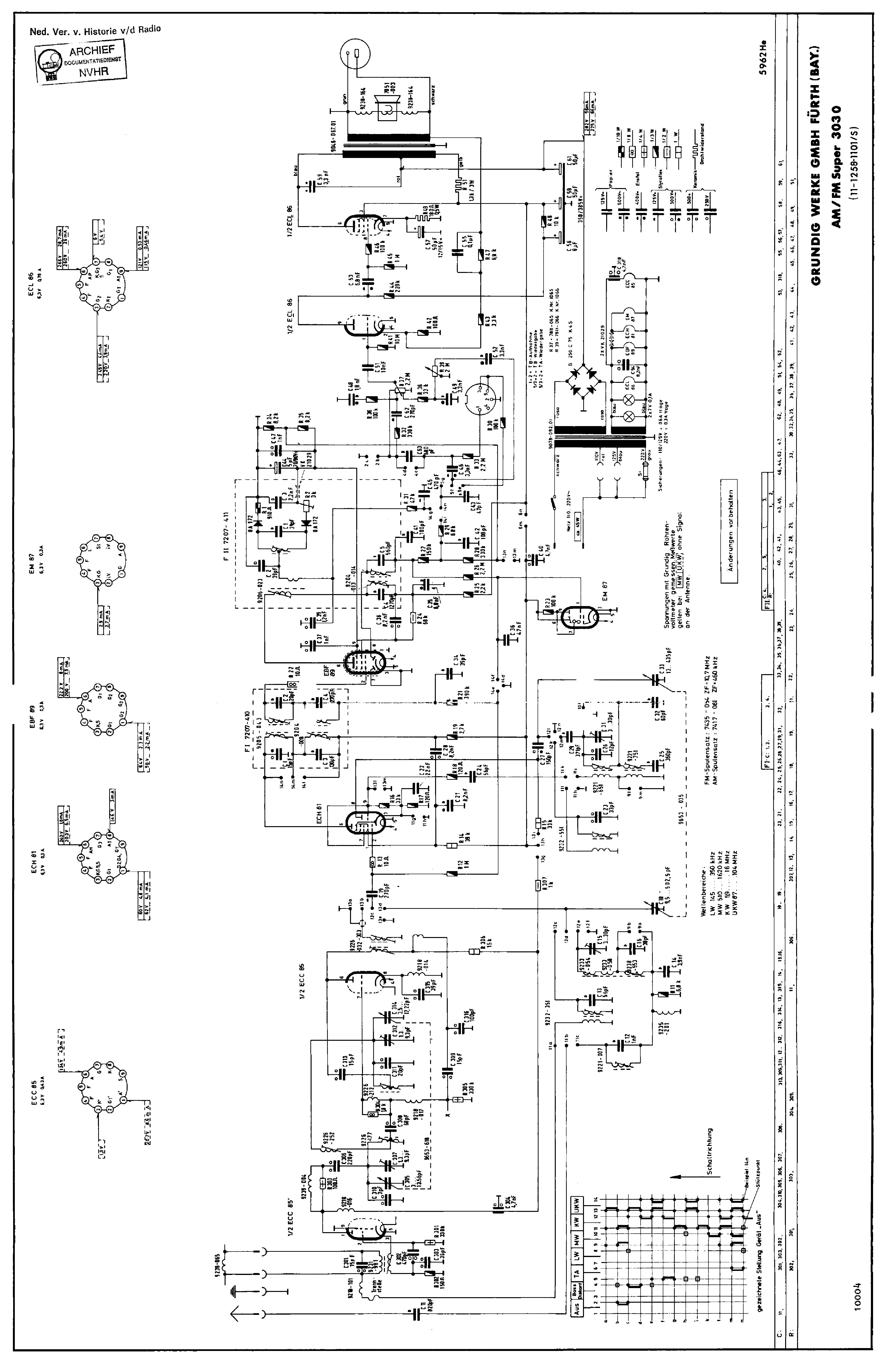 Grundig W Schematic Powerking