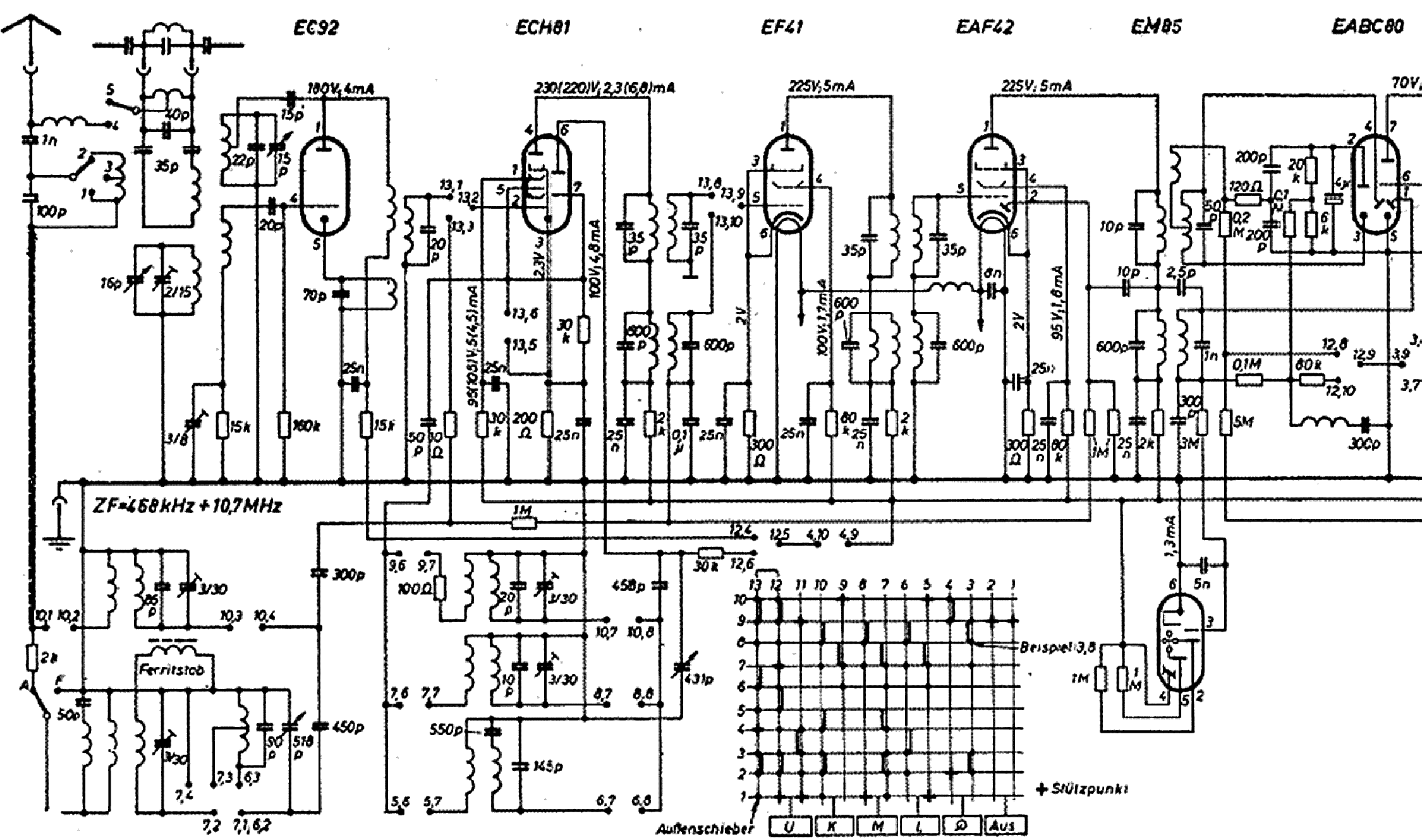 Grundig Music Boy 205 Schematic Service Manual Free