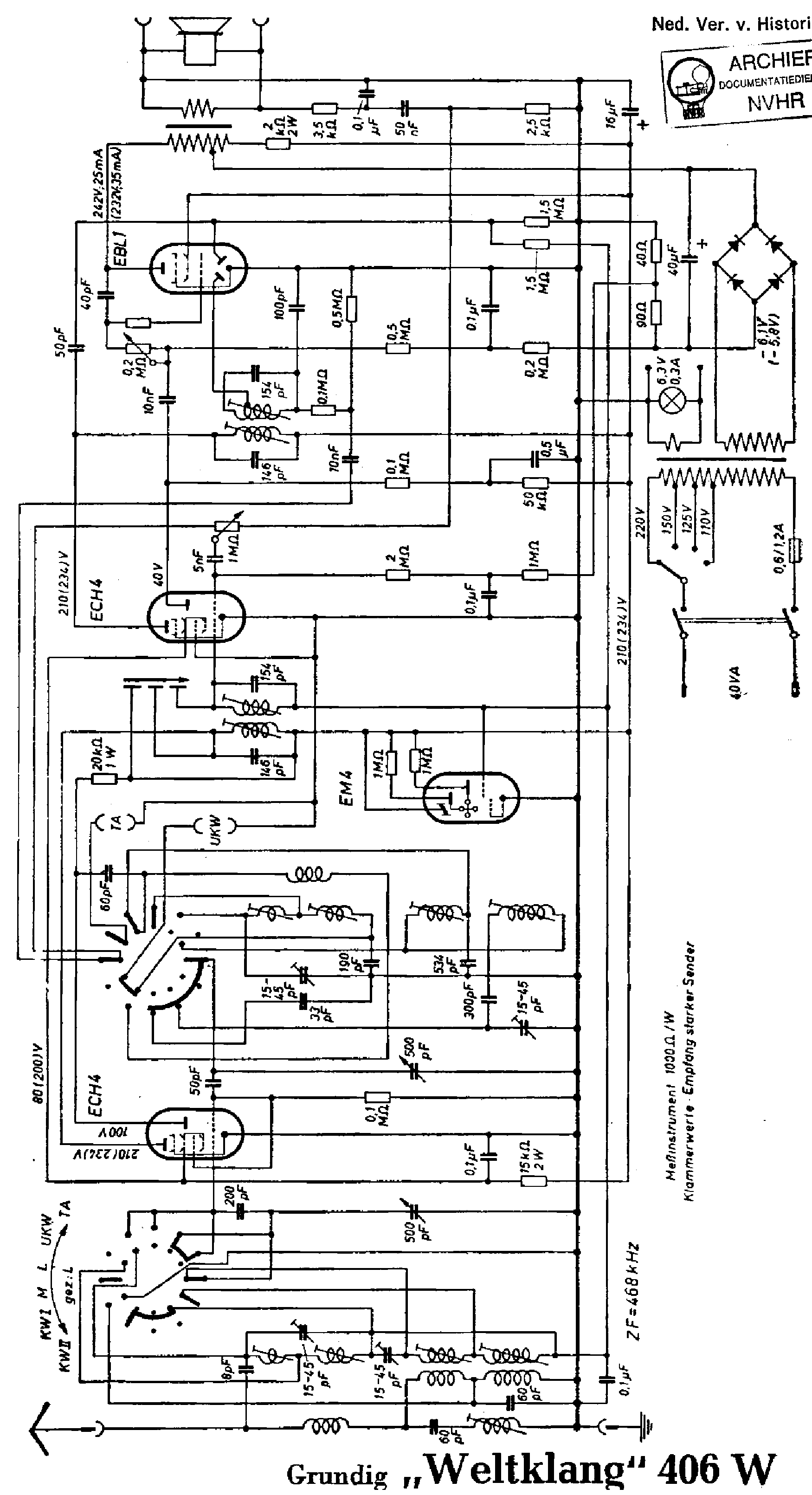 radio clock schematic