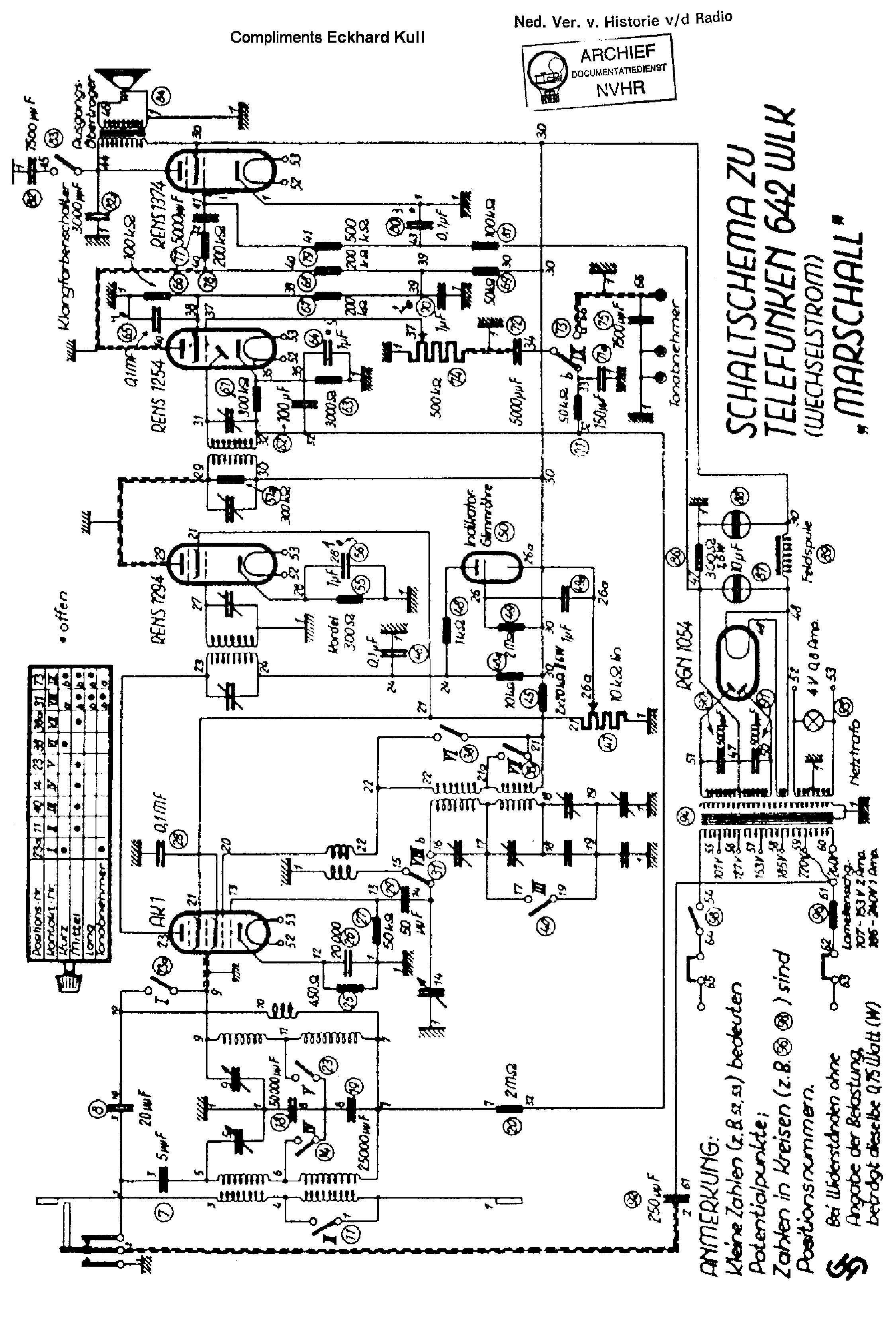 Telefunken Andante Stereo 205 Service Manual Download