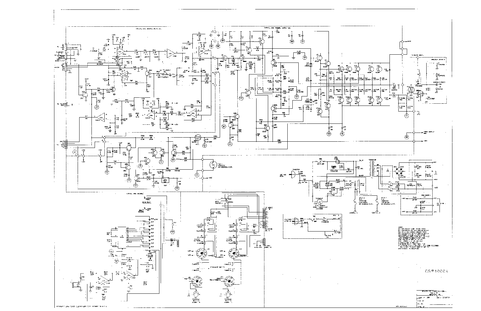 Mixer Power Amplifier Schematic