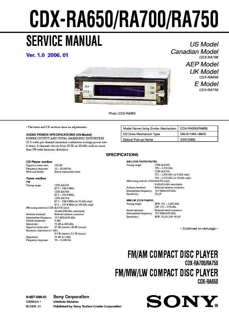 sony_cdx ra650_ra700_ra750.pdf_1?resize\\\=665%2C941 bea ixio wiring diagram ixio st \u2022 edmiracle co bea ixio wiring diagram at gsmportal.co