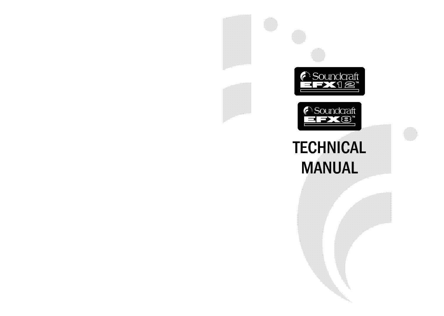 Soundcraft Efx12 Efx8 Mixer Service Manual Download