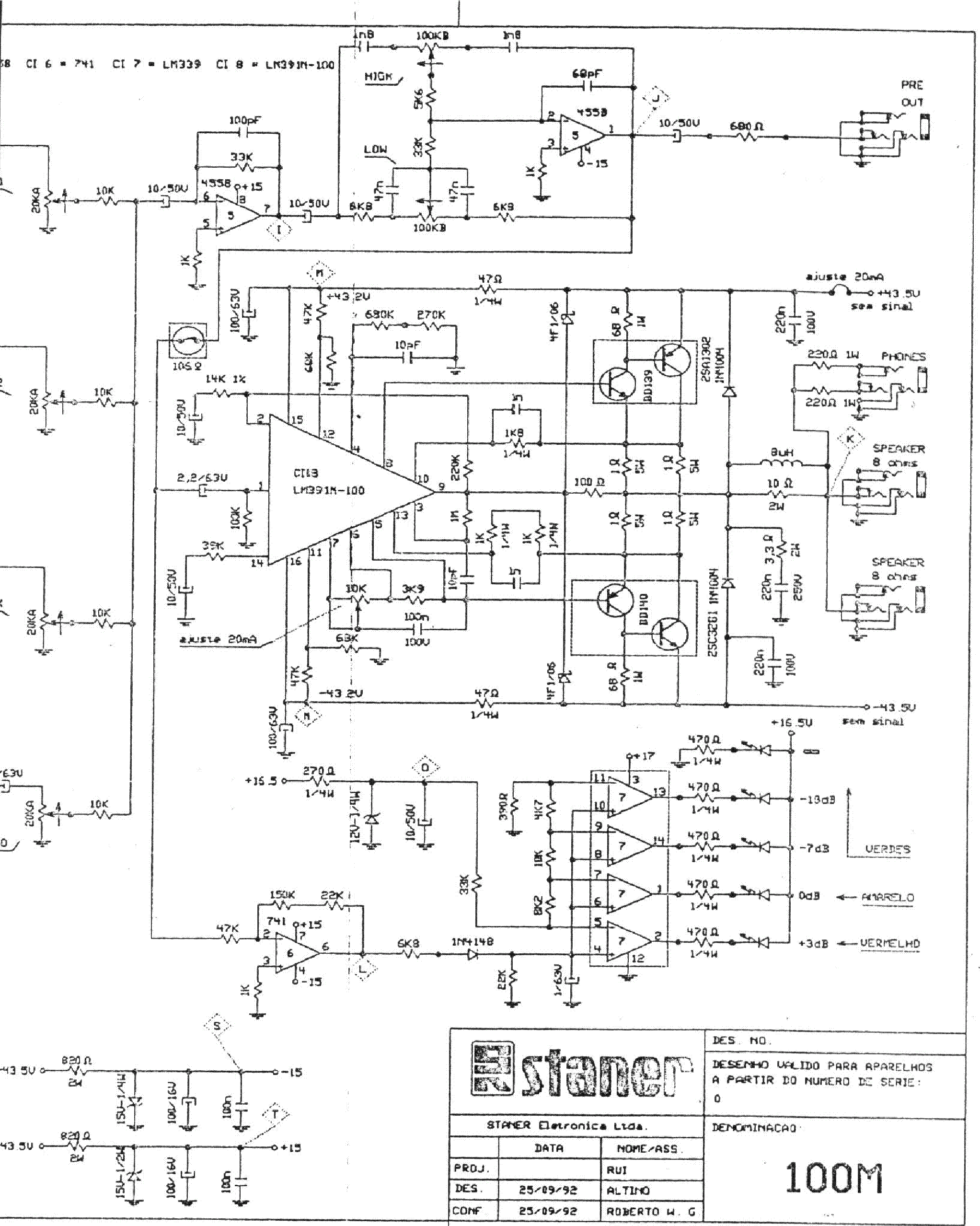 Pcb Layout Staner Amplifier