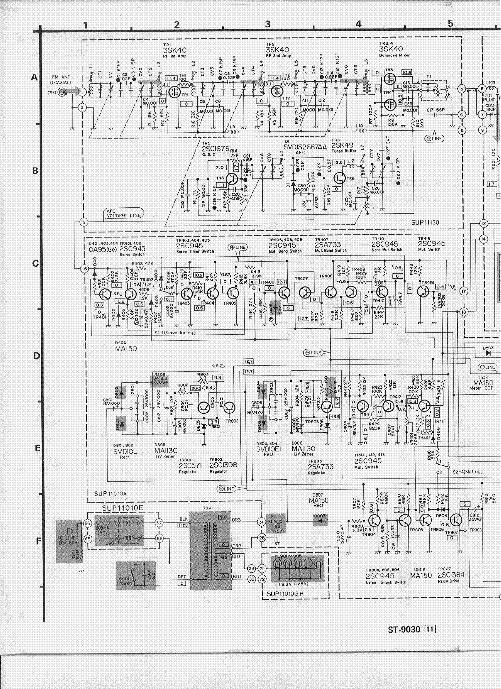 Technics St Sch Service Manual Download Schematics