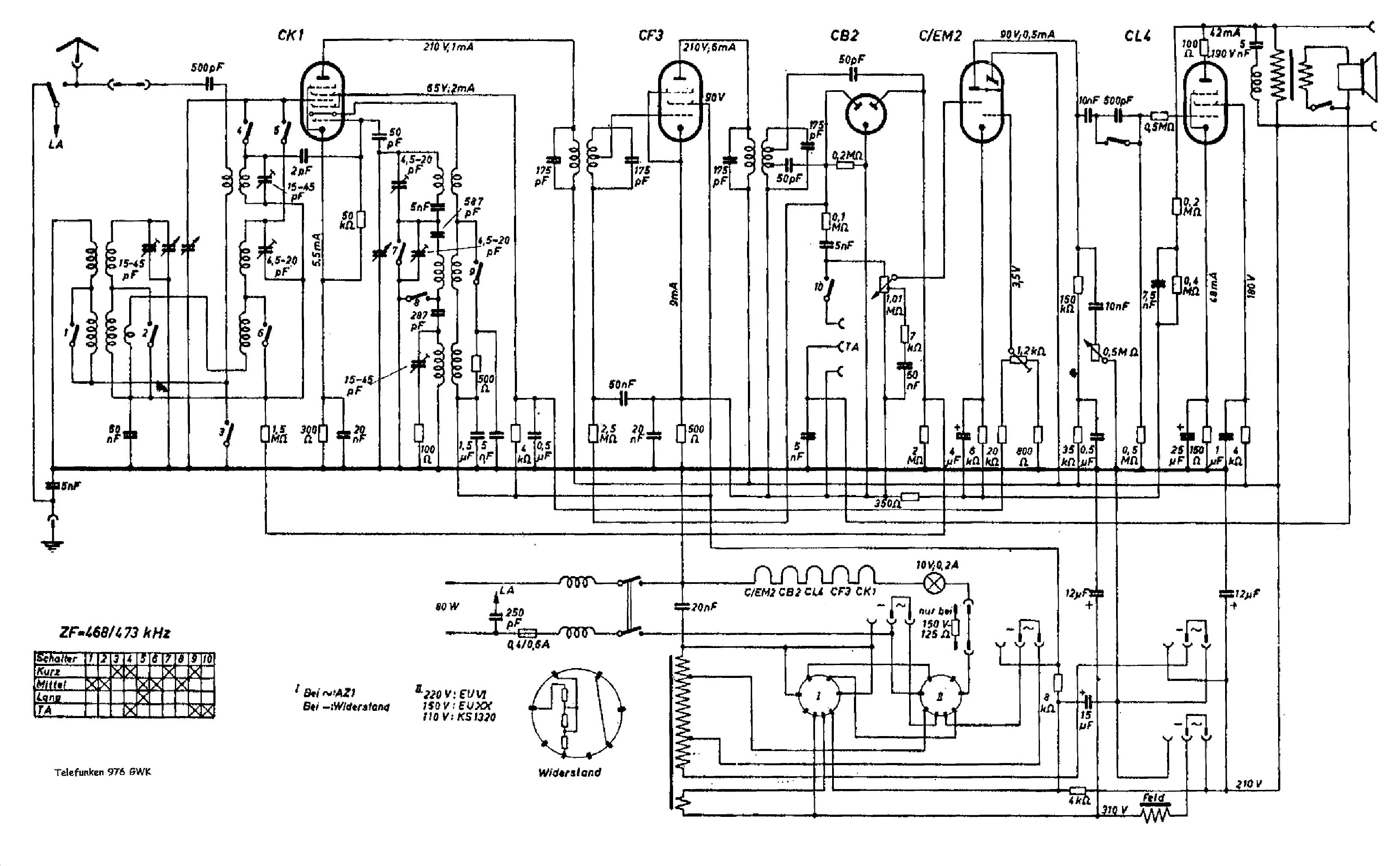 6aq5 Hi Fi Schematic