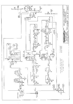 TRACEELLIOT SMX DUAL COMPRESSOR SCH Service Manual