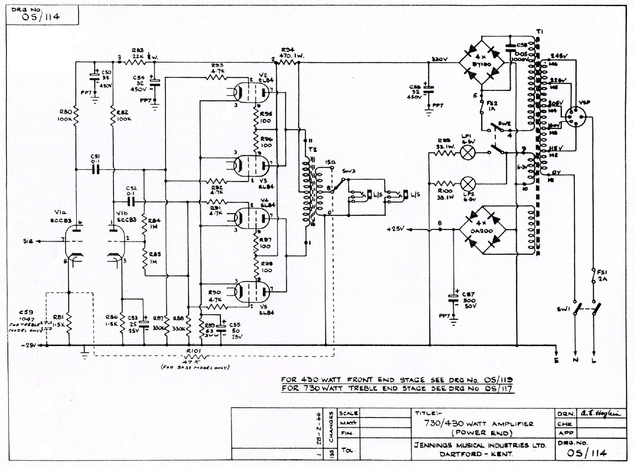 Vox Viscount V Sch Service Manual Download Schematics