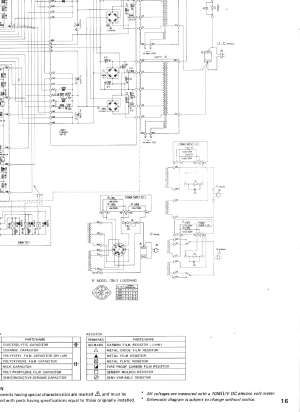 YAMAHA M80 Service Manual download, schematics, eeprom