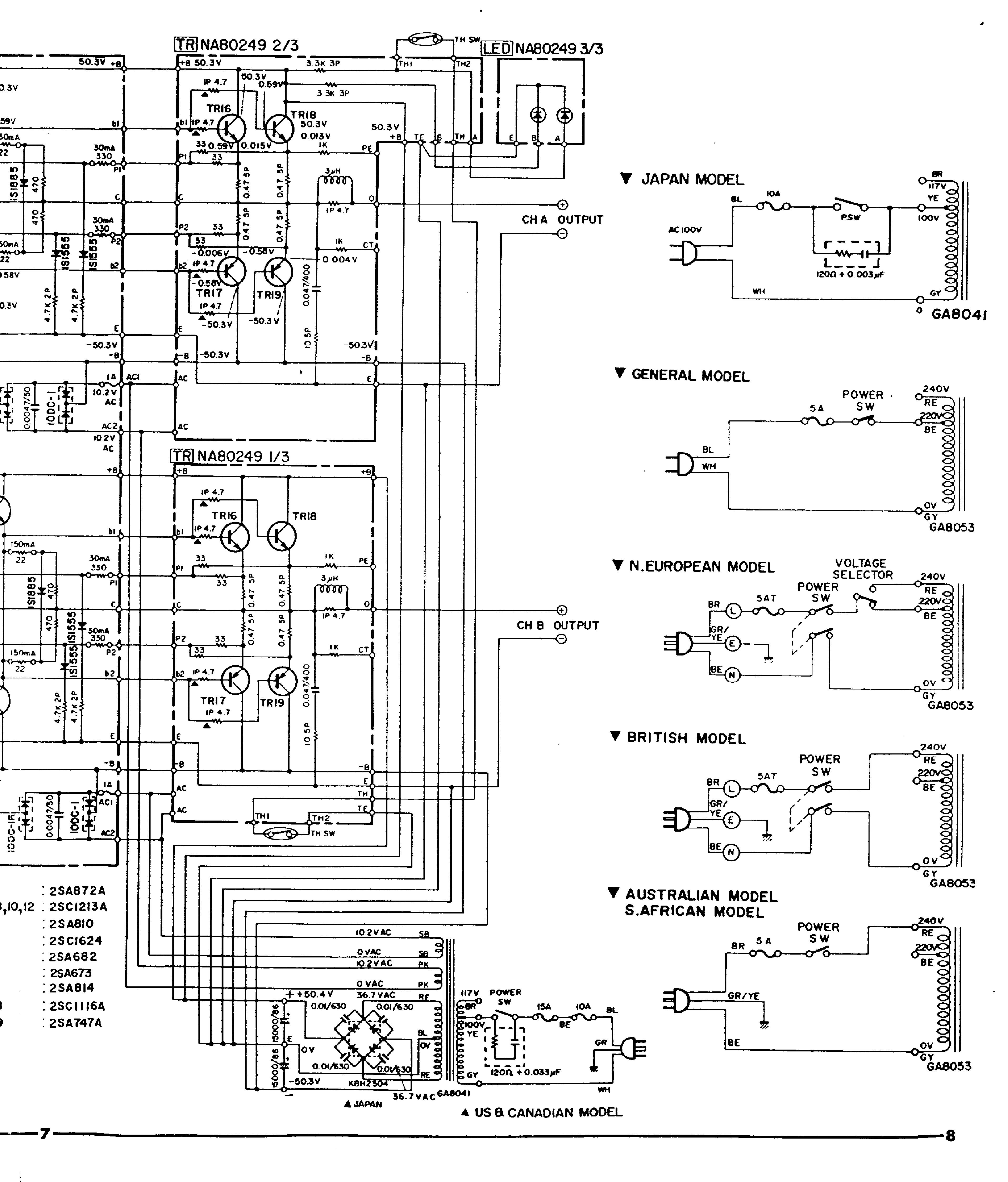 Yamaha P Sch Service Manual Download Schematics