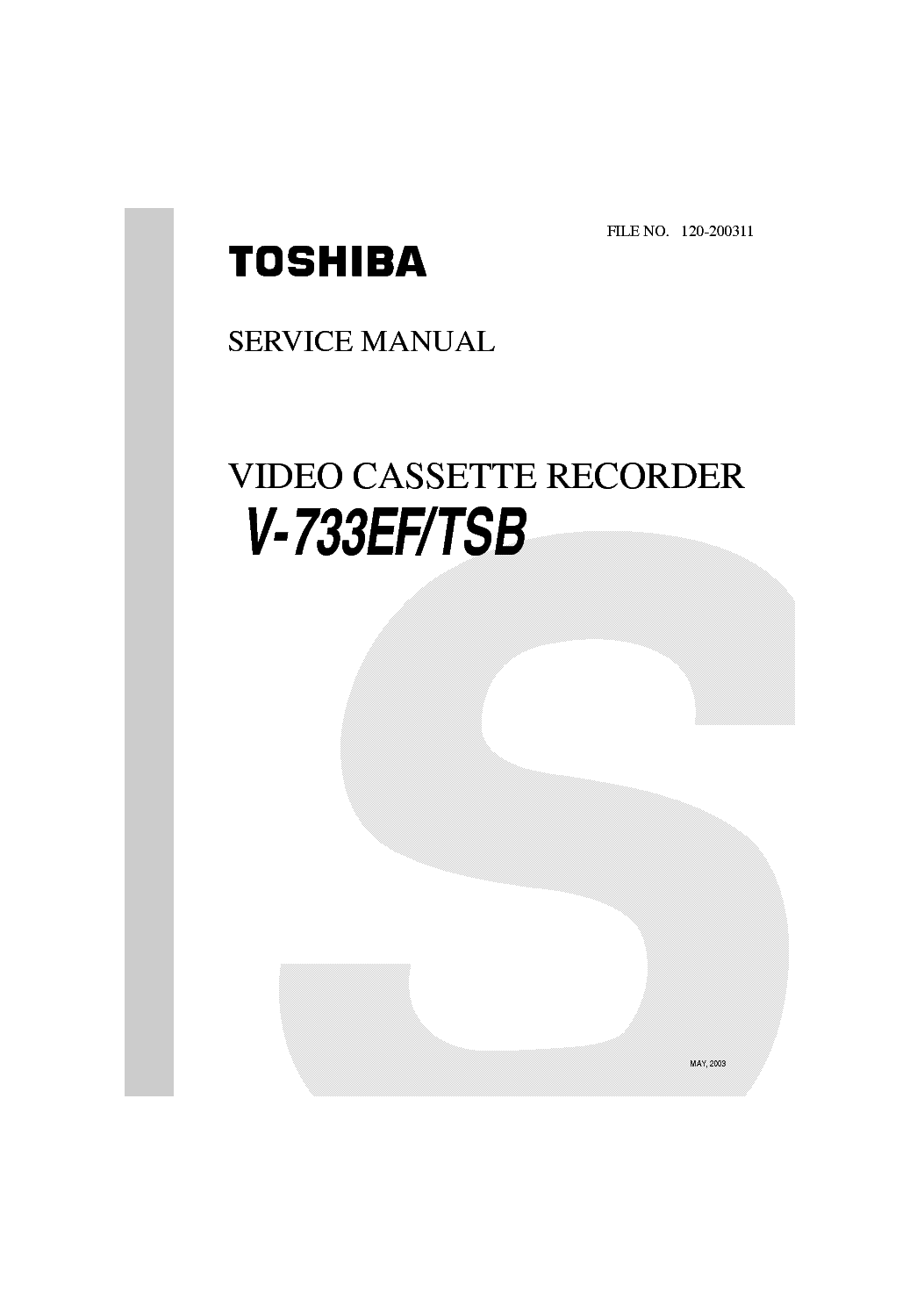 Toshiba V 223ew Tsb Service Manual Download Schematics