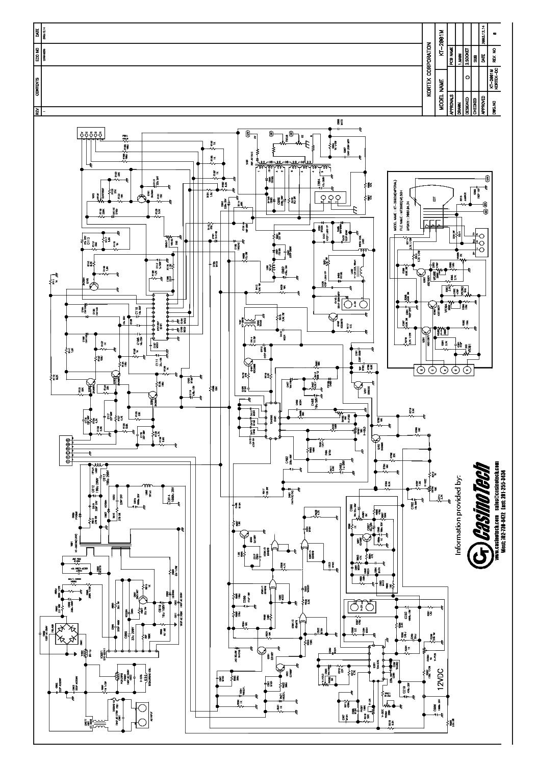 Kortek Kt M Service Manual Download Schematics Eeprom