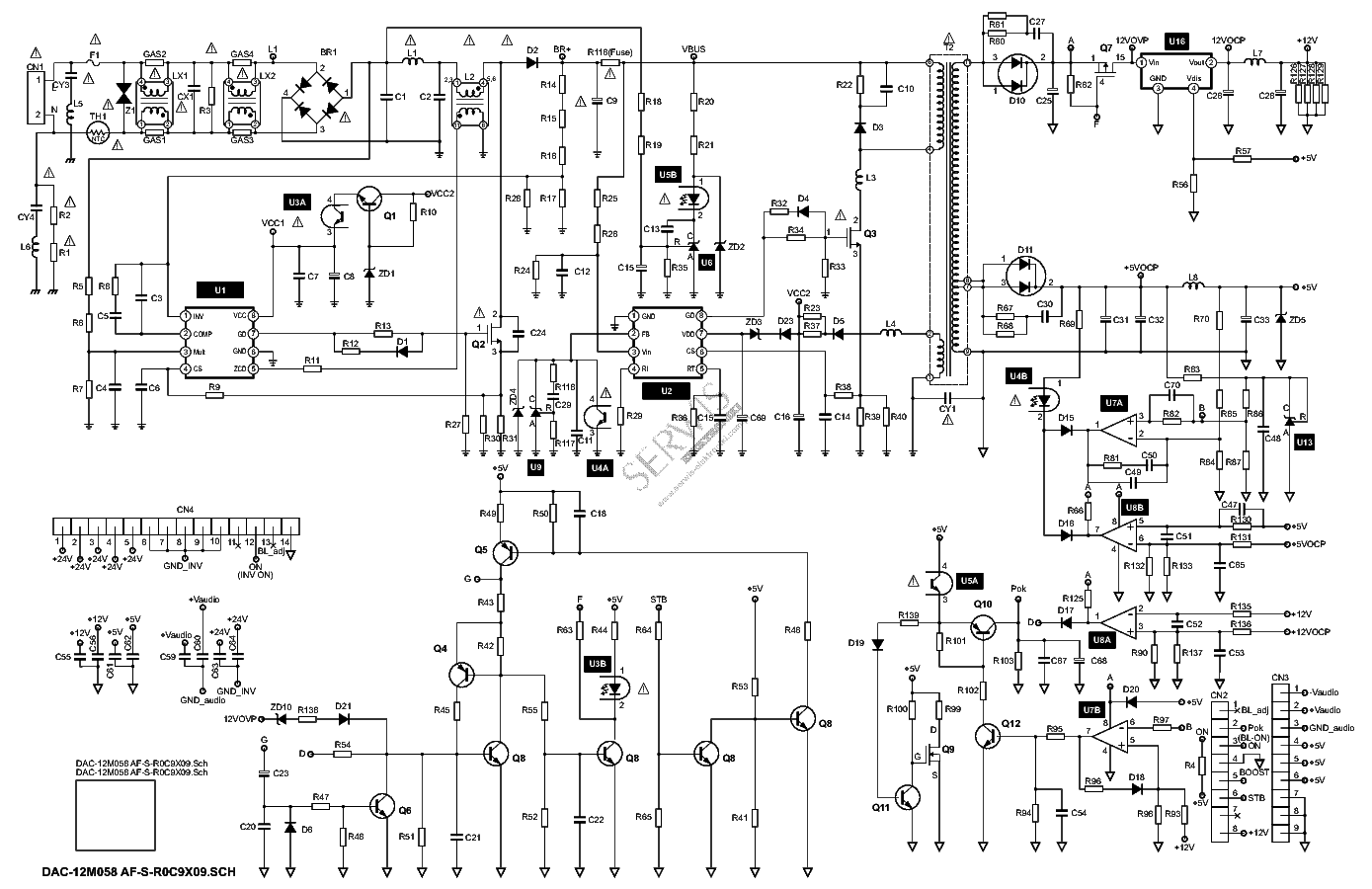 Delta Dps 141dp A Sch Service Manual Download Schematics