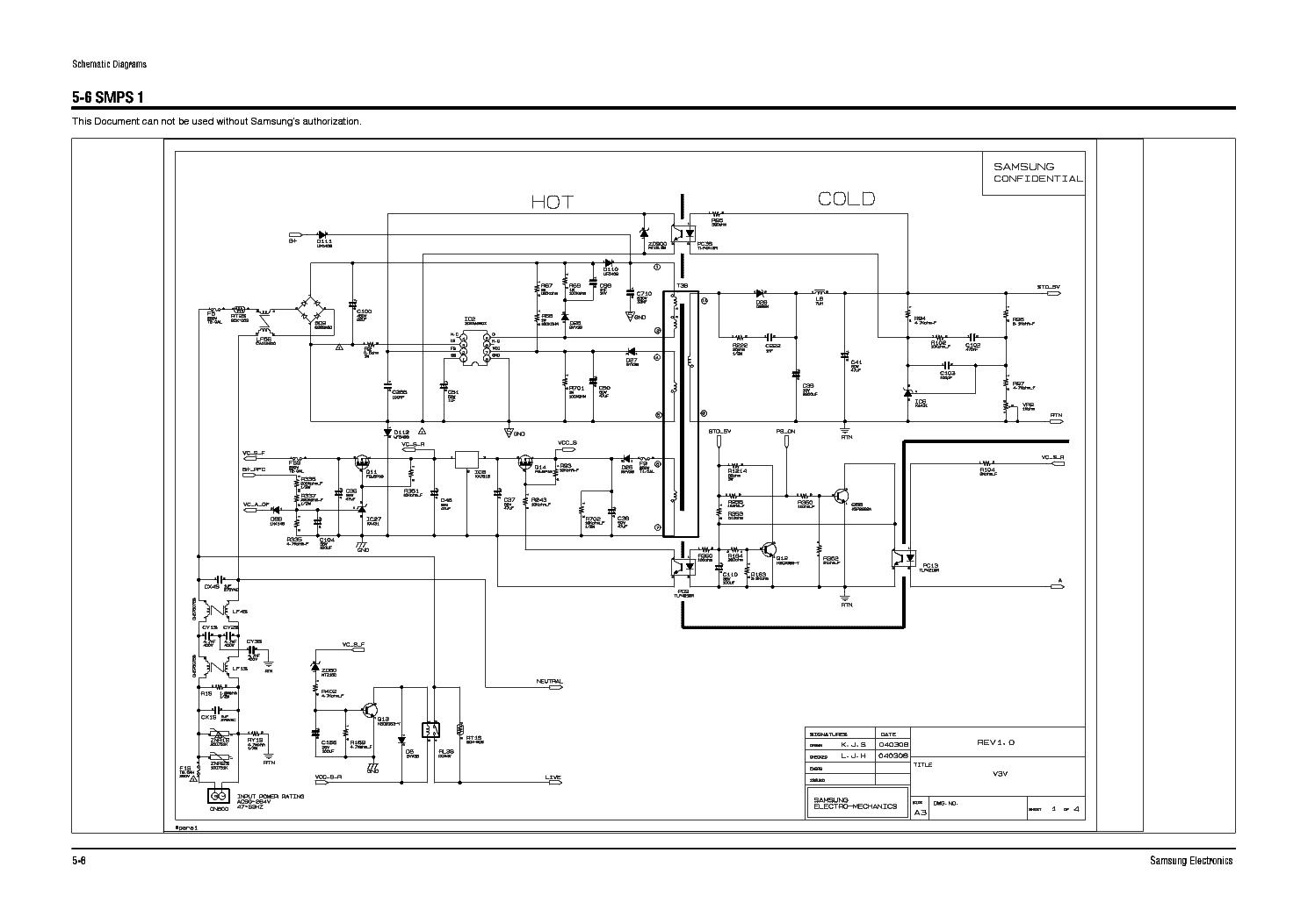Samsung Bn44 A Rev 1 0 Pwr Sch Service Manual