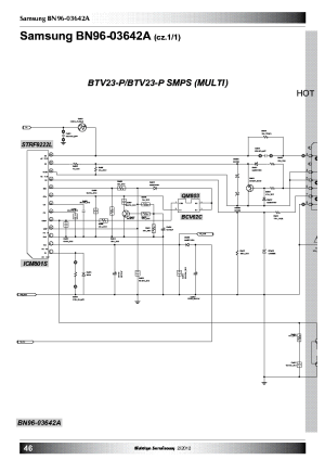 SAMSUNG BN9603642A POWER SUPPLY SCH Service Manual