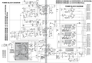 SHARP RDENCA145WJQZ RDENCA156WJQZ PSU BLOCK Service Manual