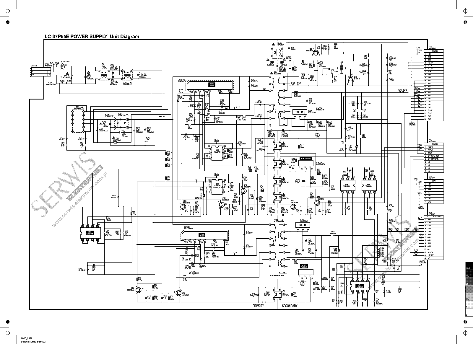 Power Supply Unit Diagram