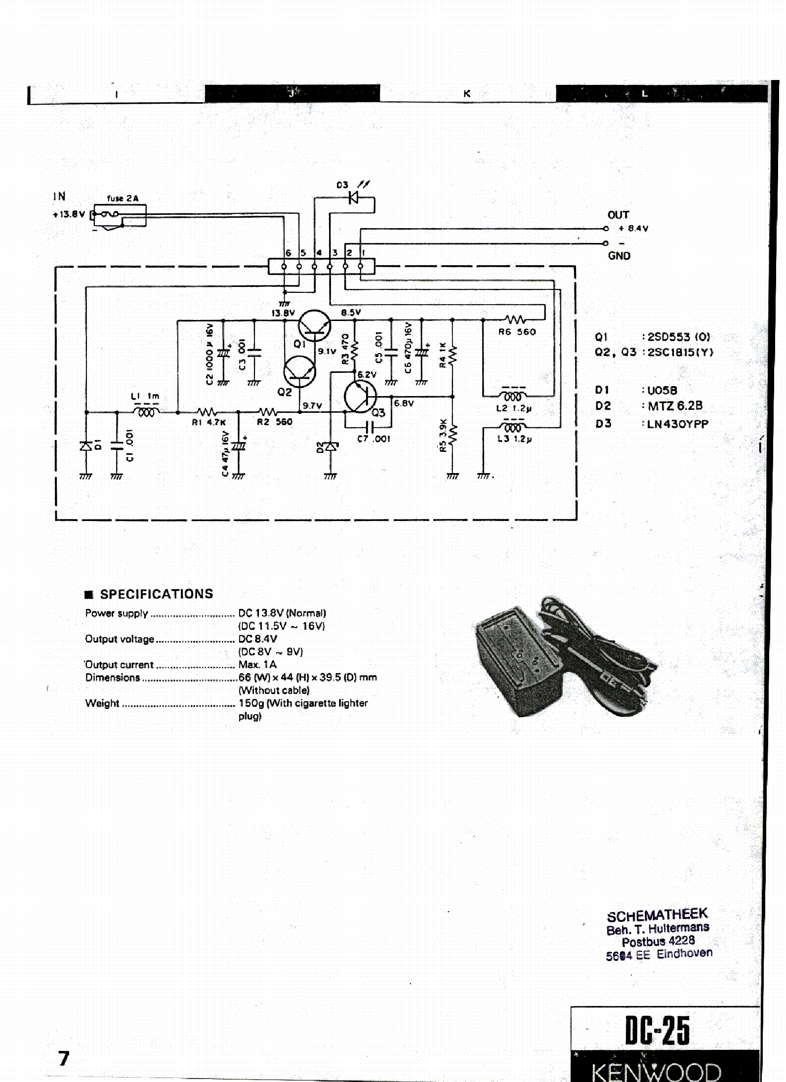 Kenwood Ps 430 Dc Power Supply Service Manual Download