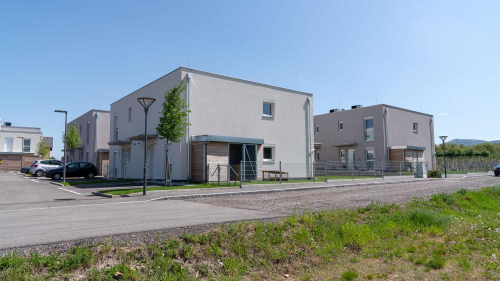 Foto Reihenhausanlage Kriemhildstrasse
