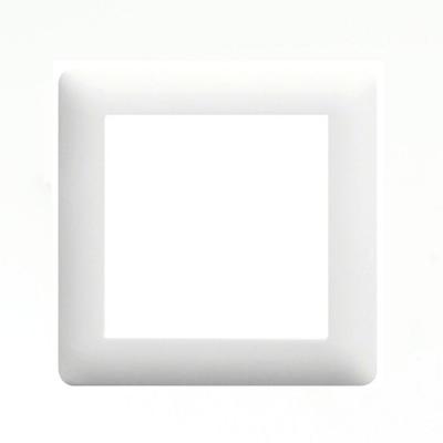 Okvir jednostruki Hager Lumina bijela Elektro Vukojevic